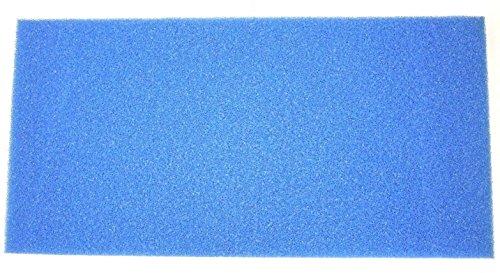 Wohnkult Filtermatte Filterschwamm 100 x 50 x 5 cm Grob PPI 10 Teich Filter Aquarium Koi Filterung