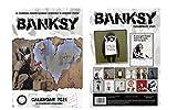 Brand New Banksy Calendar 2021 with Banksy Fridge Magnet