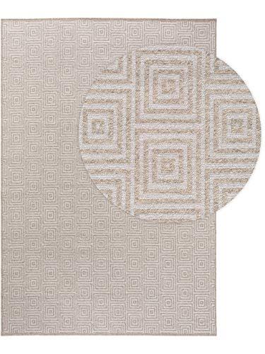 benuta TRENDS Wollteppich Jacob Hellgrau 120x170 cm - Naturfaserteppich aus Wolle