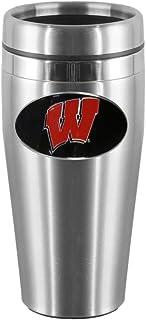 NCAA Wisconsin Badgers Steel Travel Mug