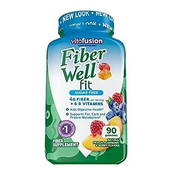 fiber well fit gummies