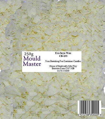 250 g Stampo per Realizzare Candele Colore: Bianco Mouldmaster Master di stearina