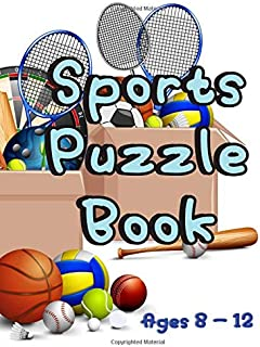 Sports Puzzle Book: Word Search - Sudoku - Word Scramble - Cryptogram (Puzzle Book for Kids)
