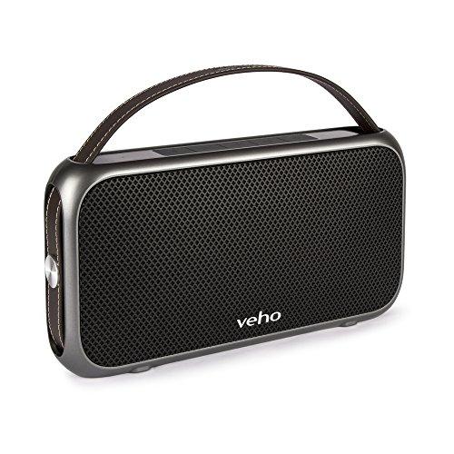Veho M7 Mode Retro Bluetooth Lautsprecher (VSS-014-M7) silber