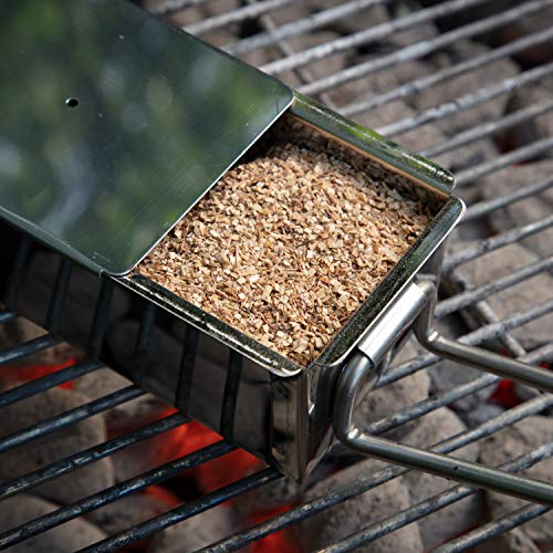 Camerons Products Smoking Chips- (Cherry) Kiln Dried, Natural Extra Fine Wood Smoker Sawdust Shavings - 1 Pint Barbecue Chips