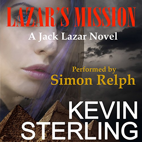 Lazar's Mission audiobook cover art
