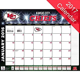 Kansas City Chiefs 2017 Calendar