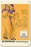Cimily New Orleans Vintage Blechschild Metallschild Poster