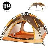 ZOMAKE Instantanée Pop Up Tente de Camping 3 Personnes, Automatique Imperméable à l'eau Tente pour la Pêche à l'extérieur de...
