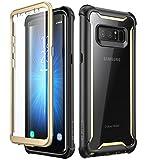i-Blason Coque Samsung Note 8, Coque Intégrale Transparente Bumper Série Ares avec Film Protecteur...