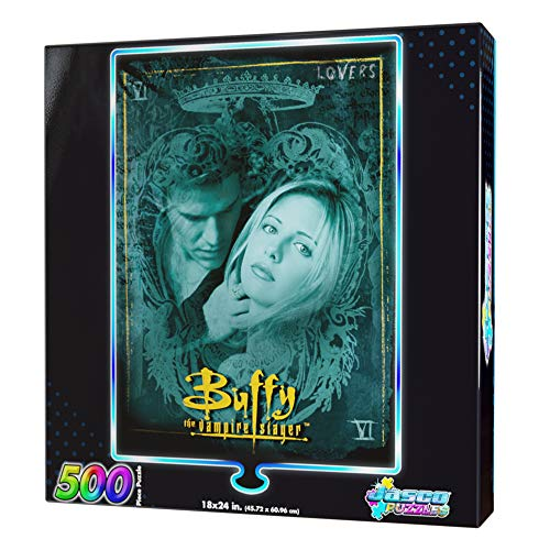 """Buffy The Vampire Slayer Foil """"Lovers"""" Puzzle"""