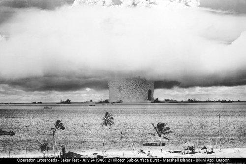 Bomba atómica (hongo) Póster
