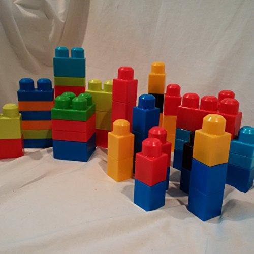 Mega Bloks 55 Piece Set, Replacement Mega Bloks, 55 Piece Mega Bloks