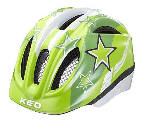 KED Meggy Helmet Kids Green Stars Kopfumfang 52-58 cm 2017 mountainbike helm downhill