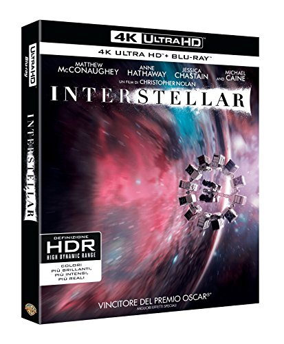 Interstellar (4K Ultra Hd+Blu Ray) [Blu-ray] [Importación Italiana]