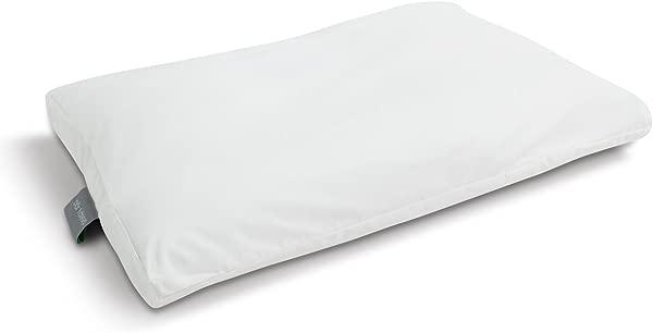 睡眠瑜伽清凉清新 2 包标准大号枕套保护套 100 纯棉防过敏可机洗薰衣草紫色标准大号白色