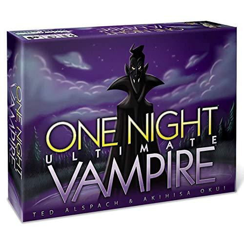 RLFDC Una Noche Último Vampiros - Cubierta De Juego De Cartas Juegos De Mesa - Game Party - 3 A 10 Jugadores - - Versión Inglesa, Interacción Gadget para Familias Adultos Niños para Niños