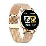 El Nuevo Reloj Inteligente Q9 Diámetro Touch Touch Diameter Smart Watch Es Adecuado para Damas Y Niñas, Compatible con Android Y iOS,B