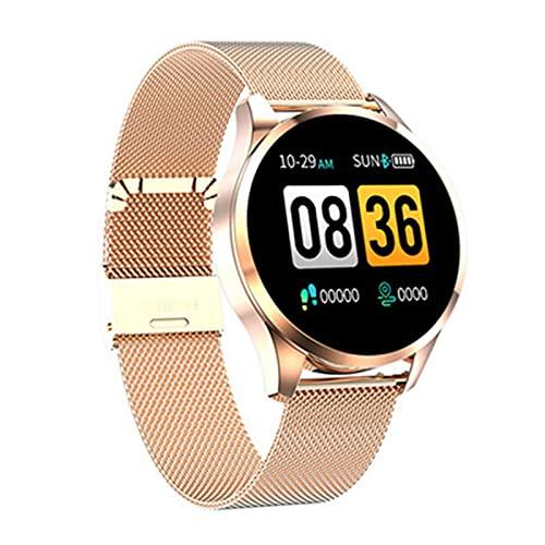 ZBY Brazalete Inteligente Hartslagmeter Waterdicht Fitness Tracker Bluetooth Reloj Pulsera Q9 con Android Y iOS,D
