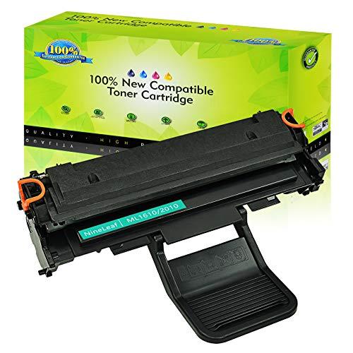 NineLeaf 1 Pack Compatible for ML1610 ML2010 Black Toner Cartridge Used in ML-2010 ML-2510 ML-2570 ML-2010P ML-2010PR ML-2010R ML-2015 ML-2571N SCX-4321 SCX-4521 Printer