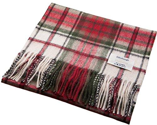 I Luv Ltd Unisex Cashmere Scarf In MacDuff Dress Tartan Design
