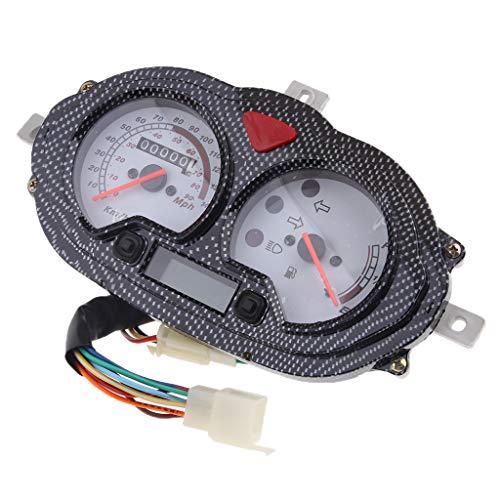 D DOLITY 1 Stück Tachometer Dash Instrument Roller-Geschwindigkeitsmesser- / Gas-Messgerät