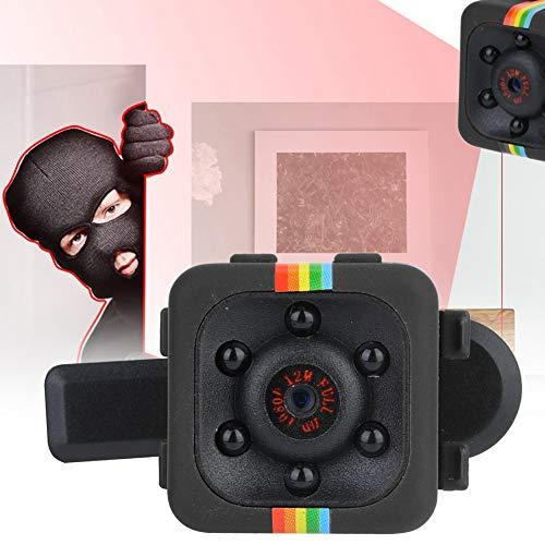 Tbest Mini Spy Hidden Camera HD Hochwertige Mini Kamera Cam 1080P Sensor Leichte Nachtsicht-Bewegungserkennung für Indoor/Outdoor(Schwarz)