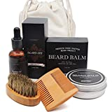Aptoco Beard Care Kit for Men Beard Growth...