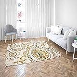 Oedim Alfombra Gresite Dorado PVC | 200 cm x 200 cm | Moqueta PVC | Suelo sintasol | Decoración del Hogar