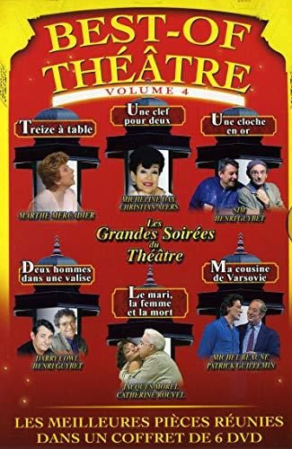 Best-of théâtre 4 : Treize à Table/Une Clef Cloche en Or/Deux Hommes dans Une Valise/Le Mari, la Femme et la Mort/Ma cousine de Varsovie