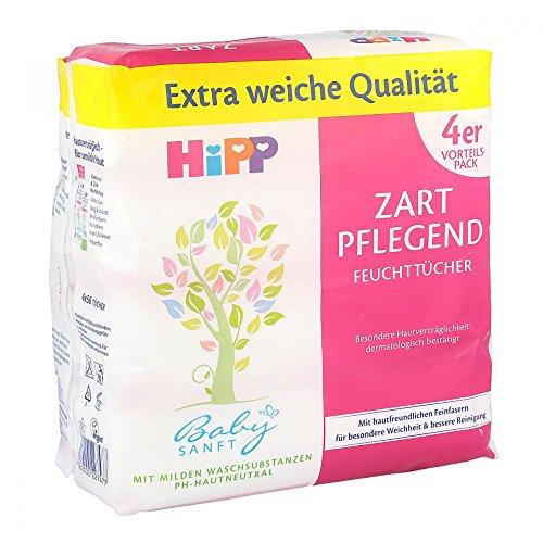 HIPP Baby SANFT Feuchttücher 4X56 St