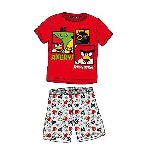 Pijama corto Angry Birds multicolor 10 Años