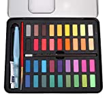 Set de acuarelas concentradas, 36 colores, para niños, adultos y profesionales
