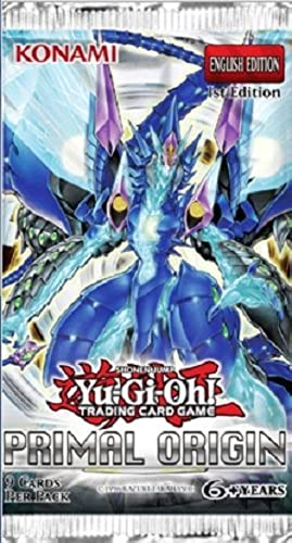 10 x Yu-Gi-Oh  - Primal Origin Boosters - ENGLISH
