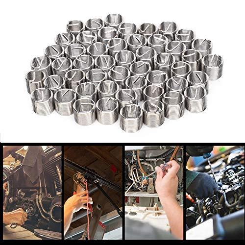 Insertos de rosca, acero inoxidable SUS304 Tuerca reductora de rosca M10x1x1.5D para cobre para aleación de aluminio para aleación de zinc para plásticos de ingeniería