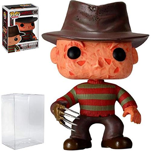 Funko Pop! Movies: A Nightmare on Elm Street - Freddy Krueger Vinyl Figure (Includes Compatible Pop Box Protector Case)