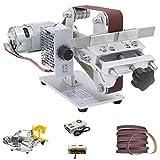 Huanyu Smerigliatrice elettrica per coltello smerigliatrice elettrica 895/997 per levigatrice a nastro micro (997 Motore, 480W di potenza)