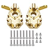 RCLions Brass Steering Cup Counterweight Upgrade Parts for trx4 T4 1/10 RC Crawler Car