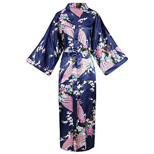 YRTHOR Oversize XXXL Frauen Rayon Kimono Bademantel Braut Brautjungfer Hochzeit Robe...