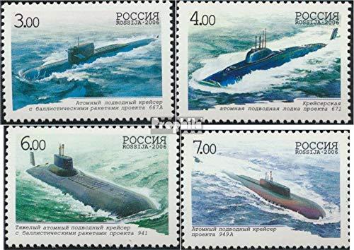 Prophila Collection Russland 1311-1314 (kompl.Ausg.) 2006 U-Boot-Flotte (Briefmarken für Sammler) Seefahrt