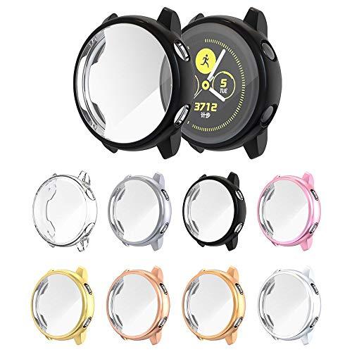 Capa Case para Samsung Galaxy Watch Active 40mm Sm-R500 - Marca Ltimports (Preto)