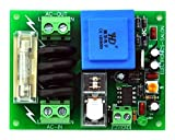 Electronics-Salon 115Vac Mains Power ON Delay Soft-start Protection Module, with 12 Vdc Regulator.