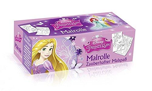 Malrolle - Zauberhafter Malspaß: Disney Prinzessin