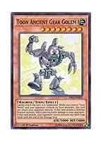 遊戯王 英語版 DRL2-EN022 Toon Ancient Gear Golem トゥーン・アンティーク・ギアゴーレム (スーパーレア) 1st Edition