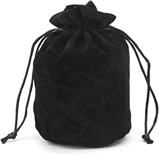 Fmingdou Dungeons and Dragons Velvet Dice Bag Jewelry Packing Drawstring Bag Board Game