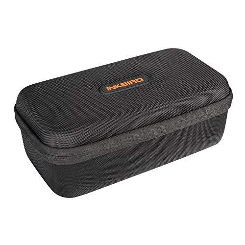 Inkbird-Aufbewahrungsbox kompatibel für IBT-6XS, wasserdichte und stoßfeste Reisespeicher-Tragetasche für drahtloses Bluetooth-Grillthermometer - 23 x 12 x 8 cm