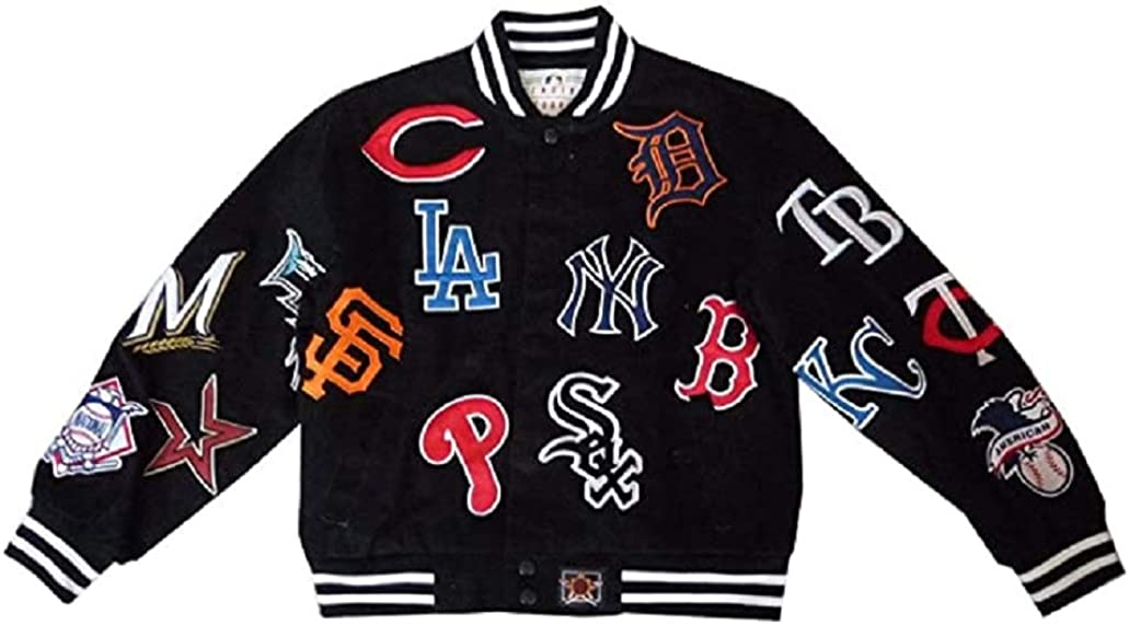 MLB Kids Collage Jacket Small famous Ranking TOP13 XL