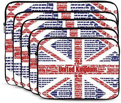 NYIVBE Union Jack Flag Laptop Sleeve Case Bag for MacBook Pro MacBook Air Thinkpad Notebook product image