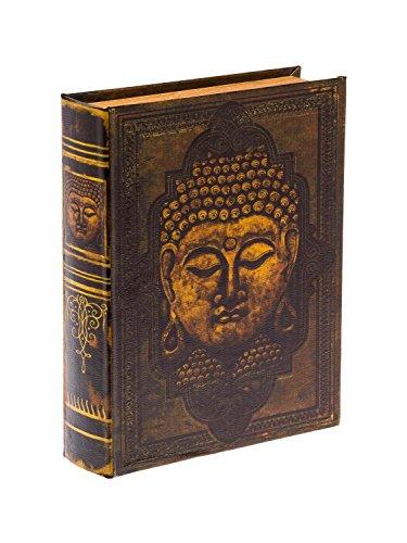Schatulle Buddha Buchattrappe Buch Box Etui Aufbewahrung Schmucketui Book Box XL