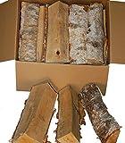 Landree® BIRKE 18Kg Kaminholz, Brennholz, Feuerholz, ofenfertig, ca 30cm Scheitlänge direkt vom Familien-Holzhof aus SchleswigHolstein